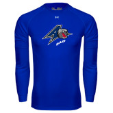 Under Armour Royal Long Sleeve Tech Tee-Dad
