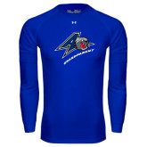 Under Armour Royal Long Sleeve Tech Tee-Grandparent
