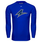 Under Armour Royal Long Sleeve Tech Tee-A