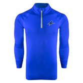Under Armour Royal Tech 1/4 Zip Performance Shirt-A