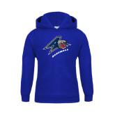 Youth Royal Fleece Hood-Baseball