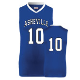 Replica Royal Adult Basketball Jersey-#10