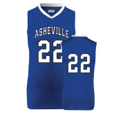Replica Royal Adult Basketball Jersey-#22