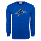 Royal Long Sleeve T Shirt-A Distressed