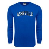 Royal Long Sleeve T Shirt-Asheville Arched
