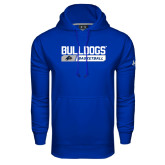 Under Armour Royal Performance Sweats Team Hoodie-Bulldogs Basketball Bar
