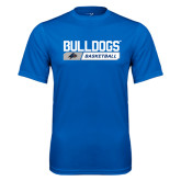 Performance Royal Tee-Bulldogs Basketball Bar