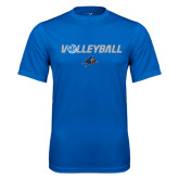Performance Royal Tee-Volleyball w/ Ball