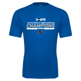Syntrel Performance Royal Tee-2017 Womens Basketball Champions