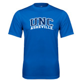 Performance Royal Tee-Arched UNC Asheville