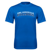 Performance Royal Tee-Arched UNC Asheville Bulldogs