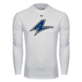 Under Armour White Long Sleeve Tech Tee-A