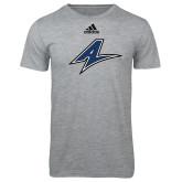 Adidas Sport Grey Logo T Shirt-A