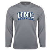 Performance Steel Longsleeve Shirt-Arched UNC Asheville