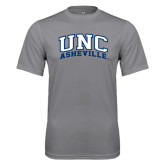Performance Grey Concrete Tee-Arched UNC Asheville
