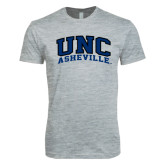 Next Level SoftStyle Heather Grey T Shirt-Arched UNC Asheville