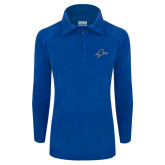 Columbia Ladies Half Zip Royal Fleece Jacket-A