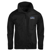Black Charger Jacket-Arched UNC Asheville