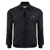Black Players Jacket-A w/ Bulldog Head