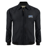 Black Players Jacket-Arched UNC Asheville