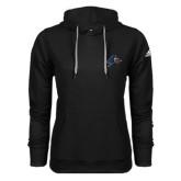 Adidas Climawarm Black Team Issue Hoodie-A w/ Bulldog Head