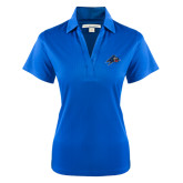 Ladies Royal Performance Fine Jacquard Polo-A w/ Bulldog Head