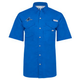 Columbia Bonehead Royal Short Sleeve Shirt-A