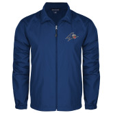 Full Zip Royal Wind Jacket-A w/ Bulldog Head