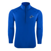 Sport Wick Stretch Royal 1/2 Zip Pullover-A