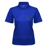 Ladies Royal Dry Mesh Polo-A w/ Bulldog Head