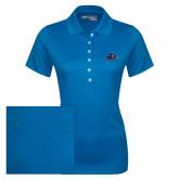 Ladies Callaway Opti Vent Sapphire Blue Polo-A w/ Bulldog Head