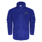 Columbia Full Zip Royal Fleece Jacket-A w/ Bulldog Head