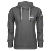 Adidas Climawarm Charcoal Team Issue Hoodie-Arched UNC Asheville