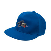 Royal OttoFlex Flat Bill Pro Style Hat-A w/ Bulldog Head