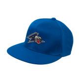 Royal OttoFlex Flat Bill Pro Style Hat-A w/ Bulldog Head
