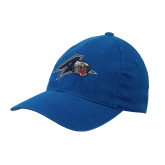 Royal OttoFlex Unstructured Low Profile Hat-A w/ Bulldog Head