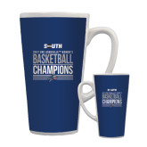 Full Color Latte Mug 17oz-2017 Womens Basketball Champions Stacked