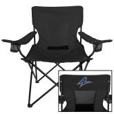Deluxe Black Captains Chair-A