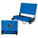 Stadium Chair Royal-A w/ Bulldog Head