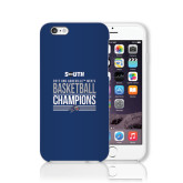 iPhone 6 Phone Case-2017 Mens Basketball Champions Stacked