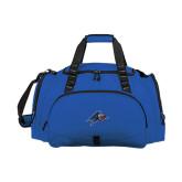 Challenger Team Royal Sport Bag-A w/ Bulldog Head
