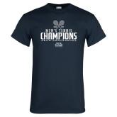 Navy T Shirt-2018 Mens Tennis Champions