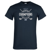 Navy T Shirt-2018 Mens Golf Champions