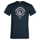 Navy T Shirt-2018 ASUN Mens Cross Country Champions