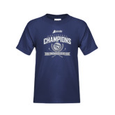 Youth Navy T Shirt-2016 Atlantic Sun Conference Champions Womens Golf
