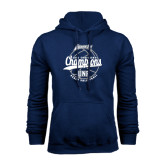 Navy Fleece Hoodie-2016 Atlantic Sun Conference Champions Beach Volleyball