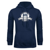 Navy Fleece Hoodie-2017 ASUN Conference Womens Golf Champions