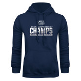 Navy Fleece Hoodie-2017 ASUN Conference Womens Tennis Champions