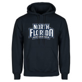 Navy Fleece Hoodie-North Florida Ospreys