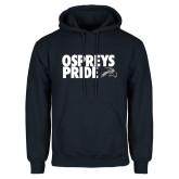 Navy Fleece Hoodie-Ospreys Pride